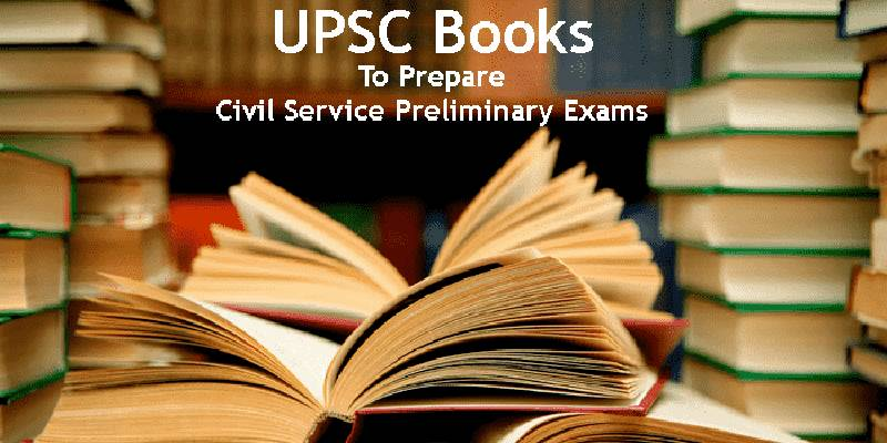 Image Showing Books For UPSC Preparation.