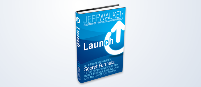Launch By Jeff Walker - A Book About Branding On Display.