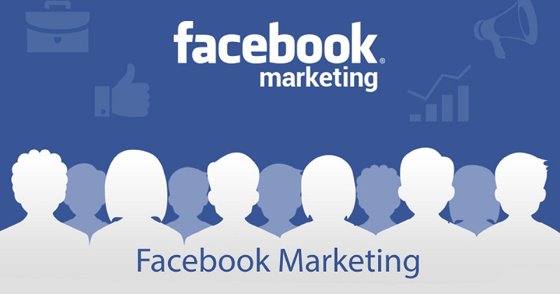 Image That Represents The Facebook Marketing Concept.